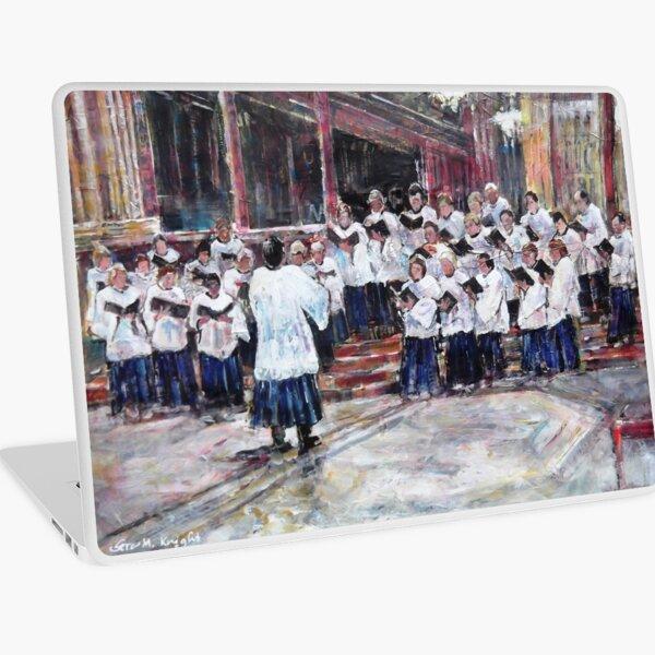 Church Choir Singing - Art Prints & Gifts Laptop Skin