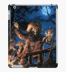 La maldición del Pirata iPad Case/Skin