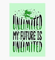 My Future is Unlimited - Musical Theatre Photographic Print