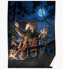 La maldición del Pirata Poster