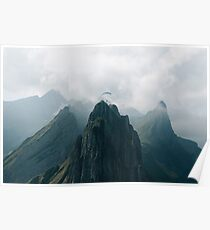 Flying Mountain Explorer - Landscape Photography Poster