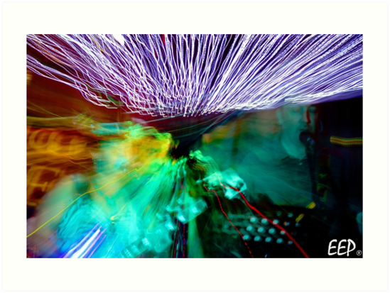 Band light art by enchantedeyes