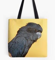 Black Is Black... I Want My Baby Back... - Black Cockatoo - NZ Tote Bag