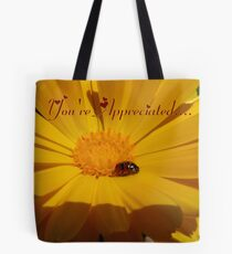You're Appreciated - Ladybird - NZ Tote Bag