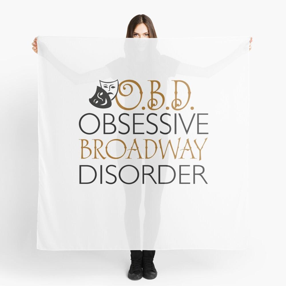 O.B.D. Trastorno obsesivo de Broadway. Pañuelo