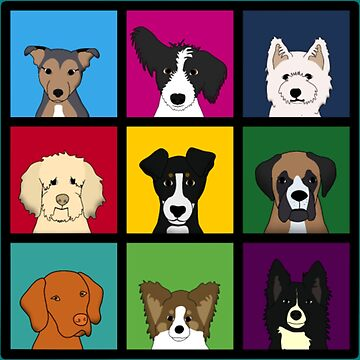 dogs Kids by Younhand