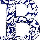 Margin Letter - B (Large) by Biotoho