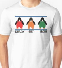 penguin races T-Shirt