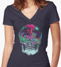 Beyond Death Women's Fitted V-Neck T-Shirt