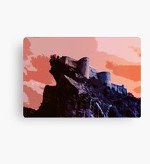 The Last Fortress Canvas Print