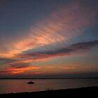 Watercolor Sunset by RVogler