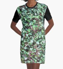 Tangled Ivy Bed Graphic T-Shirt Dress
