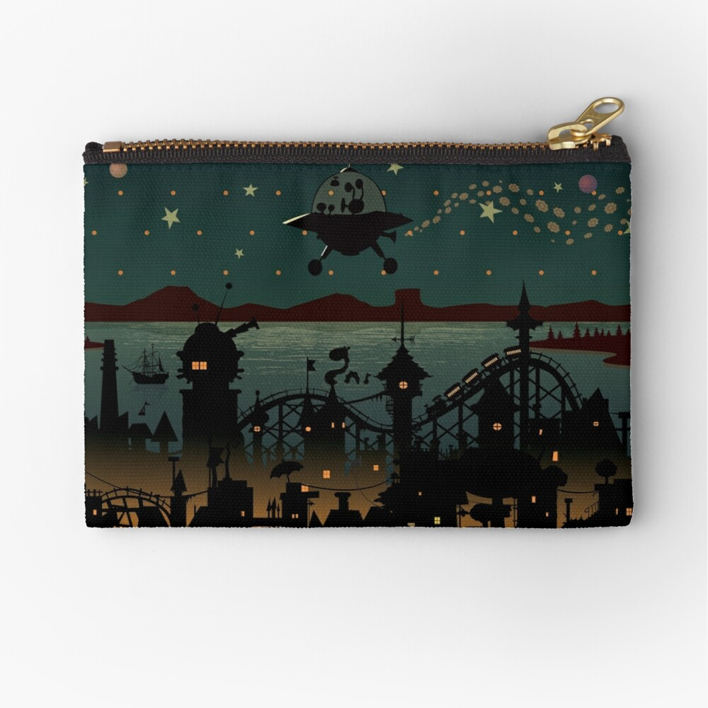 Visitor Zipper Pouch