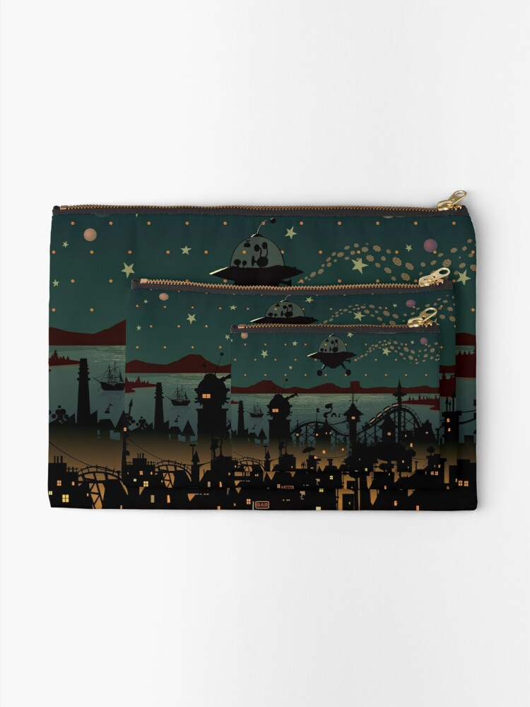 Alternate view of Visitor Zipper Pouch
