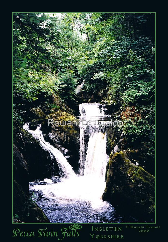 Pecca Twin Falls, Ingleton by Rowan  Lewgalon
