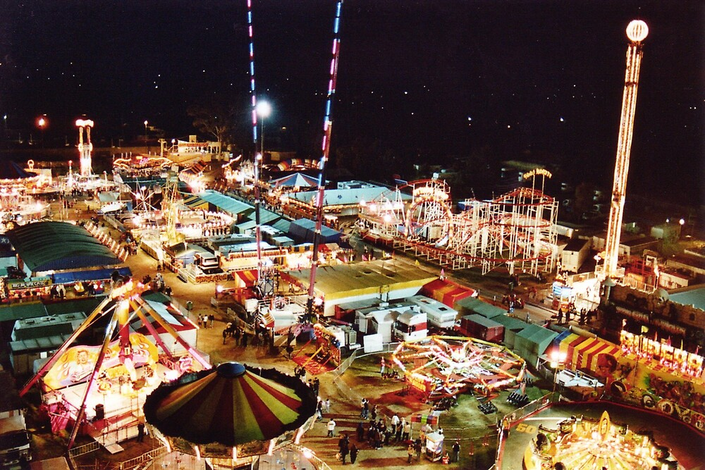 Perth Royal Show, Sideshow Alley by sami15