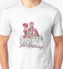 "Emma & Hook Flower Graphic - ""Pick a partner..."" Unisex T-Shirt"