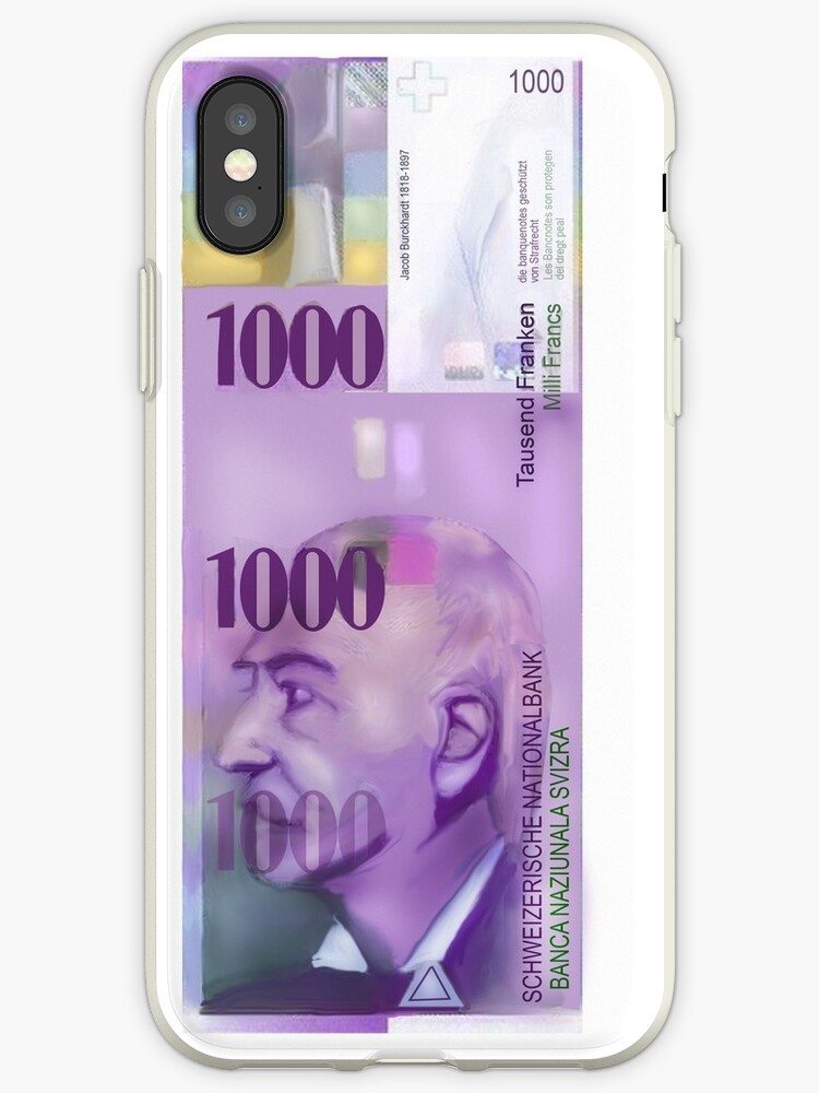 1000 Swiss Francs note bill- Front side by Nornberg77