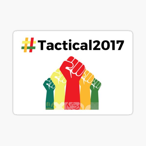 Tactical 2017 Unity Fists Sticker