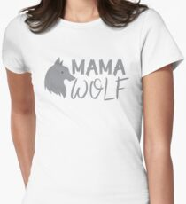MAMA wolf (with a matching Baby Wolf and Papa Wolf) T-Shirt