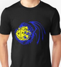 Dungeons and Dragons - Blue and Yellow! Unisex T-Shirt