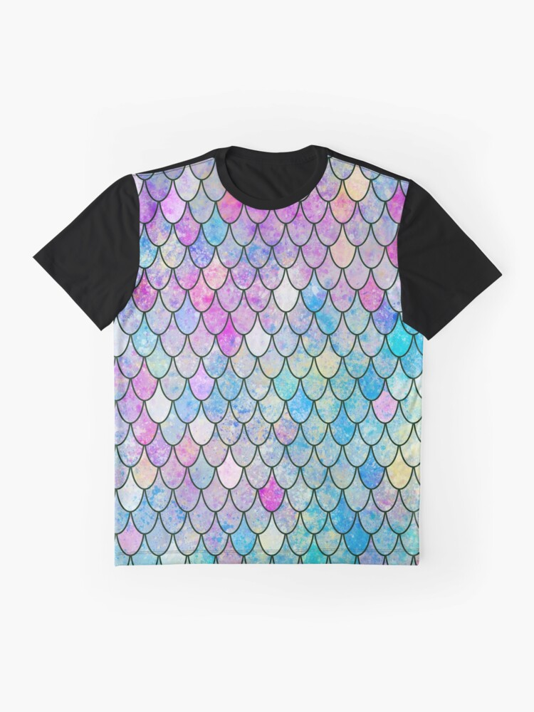 Alternate view of mermaid scales Graphic T-Shirt