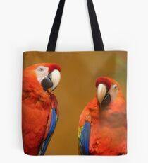 We're A Ravishing Pair... Scarlet Macaws - Otago Tote Bag