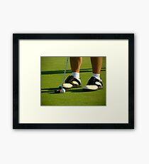 Align and Sweep Framed Print