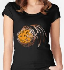 Dungeons and Dragons - Copper and Orange! Women's Fitted Scoop T-Shirt