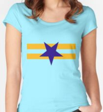 Browncoat (Independents) Flag - Inverted Star Women's Fitted Scoop T-Shirt
