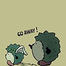Go away! by mangulica