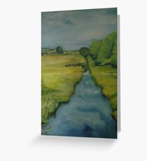 caledonian canal Greeting Card