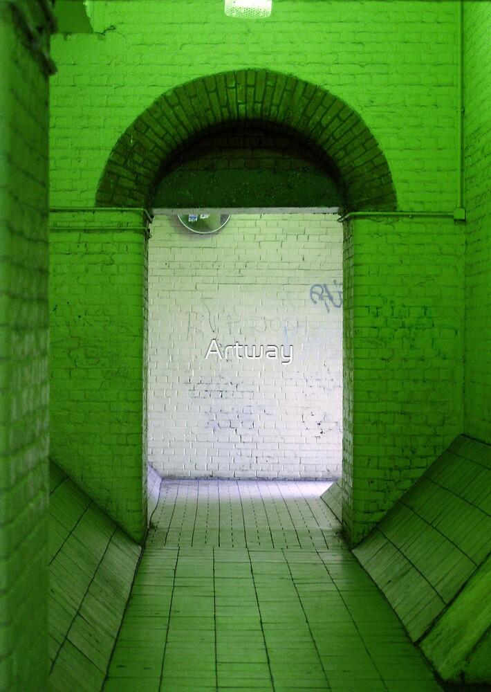 Green Room by Artway