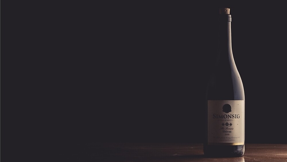 A bottle of Wine by FendyTjandra