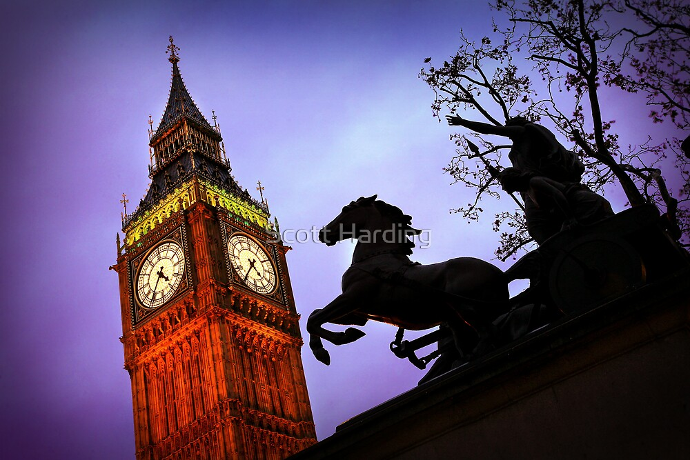 Tower of Horse Power by Scott Harding