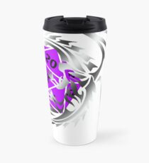Dungeons and Dragons - Silver and Purple! Travel Mug