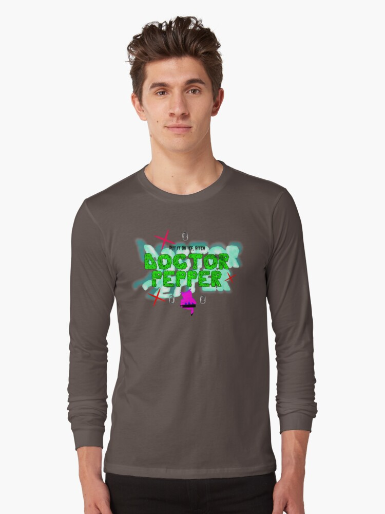 dr doctor pepper cl diplo riff raff og maco long sleeve t shirt by