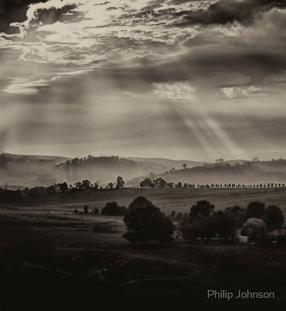 Solitude - Walwa Victoria (Monochrome) - The HDR Experience by Philip Johnson