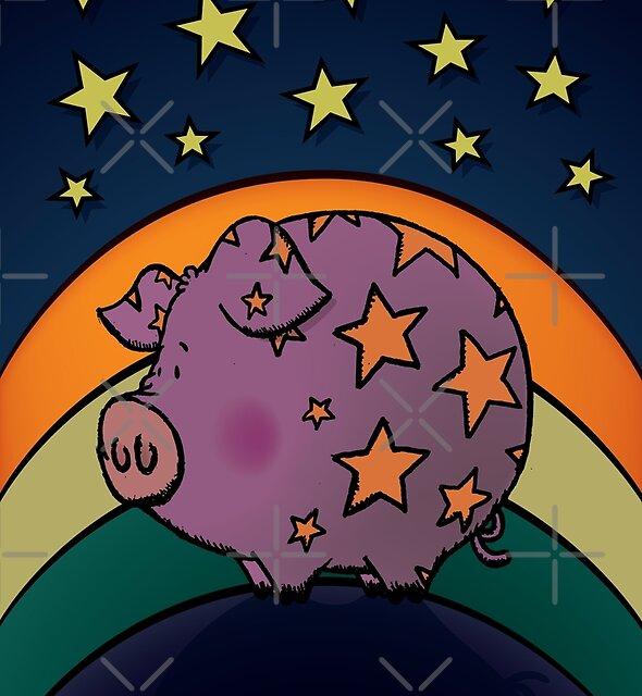 Peter The Magic Pig by mangulica