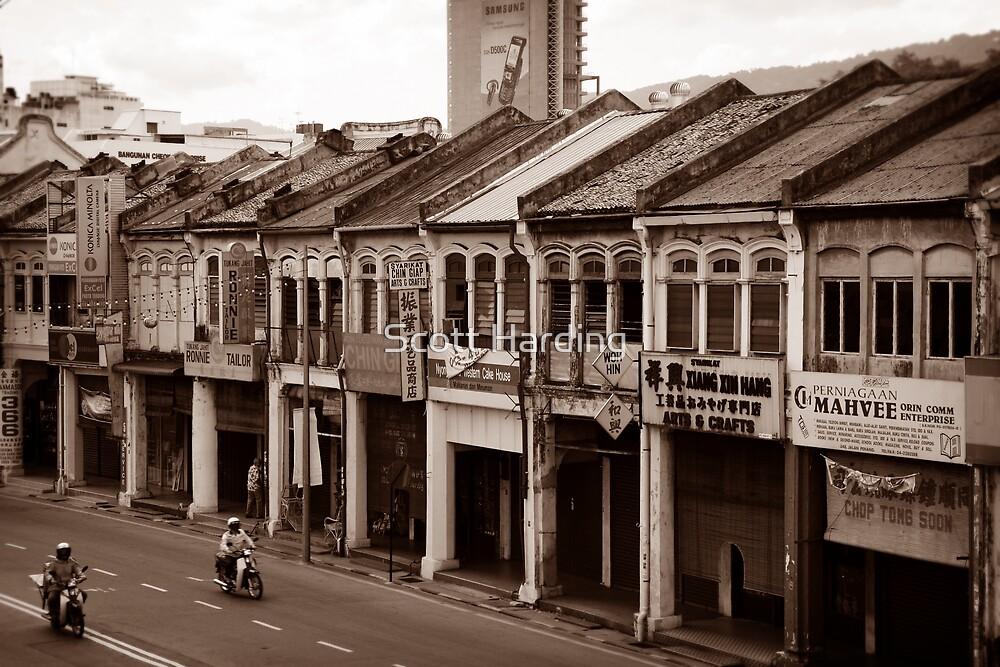 Penang Shop Houses by Scott Harding