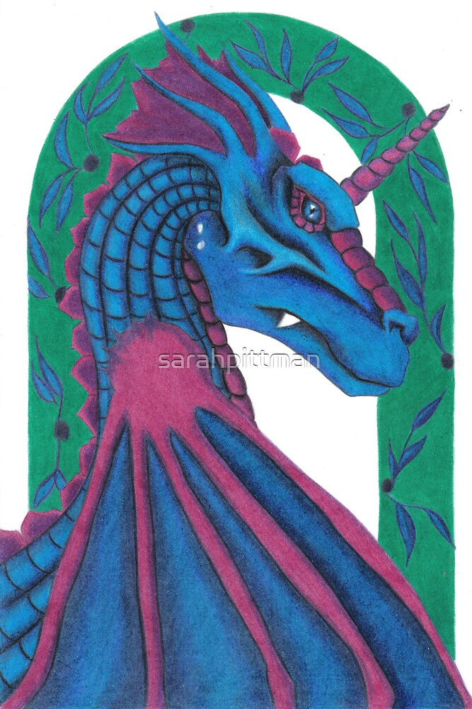 Dragon Under the archway by sarahpittman