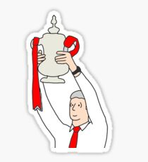 Wenger FA Cup 2017 Sticker