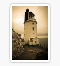 Lighthouse, St Anthonys Head, Cornwall Sticker