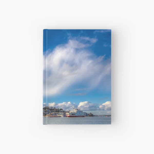 Cowes Waterfront Hardcover Journal