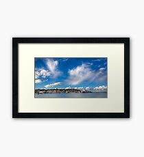 Cowes Waterfront Framed Print