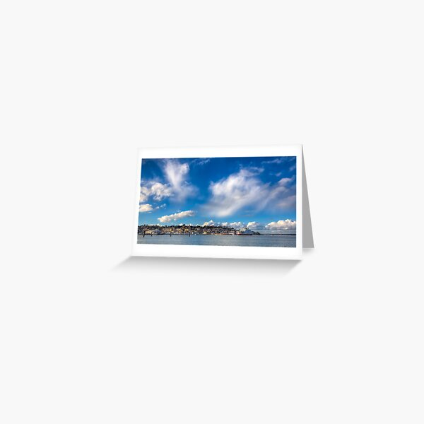 Cowes Waterfront Greeting Card