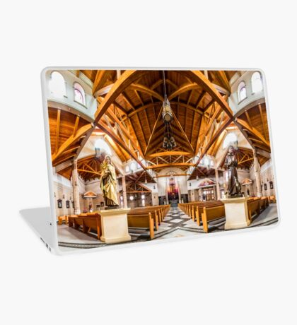 St. Clare of Assisi church 2 Laptop Skin