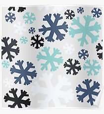 Snow blizzard! Poster