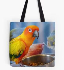 Evolution of the shovel  Sun Conure - NZ Tote Bag