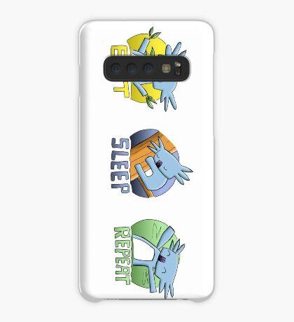 Cute Koala - Eat Sleep Repeat Case/Skin for Samsung Galaxy